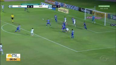 Apó boa atuação, Dellatorre espera seguir com boa sequência na Série B - Atacante foi um dos destaques do último jogo.