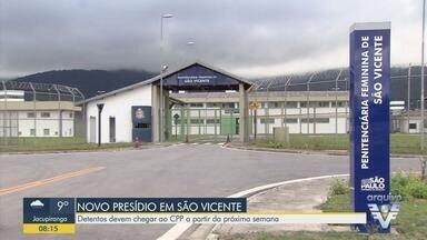 Governo de SP inaugura novo CPP em São Vicente e sindicalistas protestam - Detentos devem chegar ao Centro de Progressão Penitenciária a partir da próxima semana.