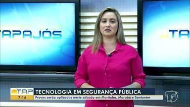 Provas de curso de segurança pública serão aplicadas neste sábado no Pará - Provas serão aplicadas em Marituba, Marabá e Santarém.