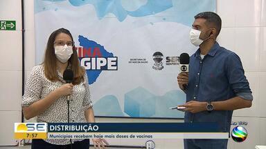 Estado faz nova distribuição de vacinas aos municípios sergipanos - Estado faz nova distribuição de vacinas aos municípios sergipanos.