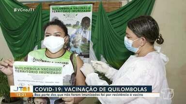 Boa parte dos quilombolas que não foram vacinados contra a Covid-19 ofereceram resistência - Saiba quantos já foram imunizados na região.