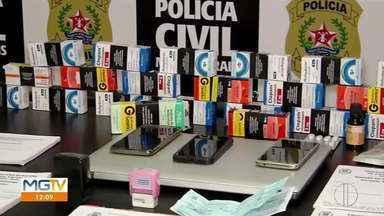 Operação Efeito Colateral investiga venda de atestados e receitas médicas falsas - Polícia Civil cumpriu dois mandados de busca e apreensão em Governador Valadares.
