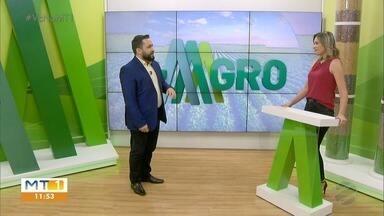 Programa Mais Agro estreou hoje na TV Centro América - Programa Mais Agro estreou hoje na TV Centro América.