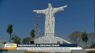 Morro do Cristo em Corumbá é reaberto - Estátuas foram revitalizadas e público pode agendar visitas