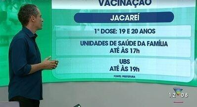 Confira informações sobre a vacinação contra Covid na região - Assista