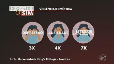 Violência contra mulher: vítimas de tentativa de feminicídio relatam como lidam com marcas - Casos aumentaram durante o período de pandemia.