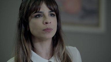 Danielle ameaça José Pedro - Bruna conhece os filhos de Du