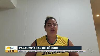 Alagoana busca medalha no arremesso de peso na Paralimpíada de Tóquio - Marivana Oliveira compete às 21h30.
