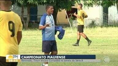 Timon estreia na Série B do Piauiense contra Corisabbá com mudanças - Timon estreia na Série B do Piauiense contra Corisabbá com mudanças