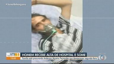 Paciente desaparece após ter alta de hospital em Goiânia - Família pede ajuda para encontrá-lo.