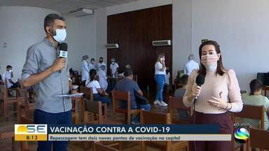 Repescagem da vacinação contra a Covid-19 é retomada em Aracaju - Repescagem da vacinação contra a Covid-19 é retomada em Aracaju