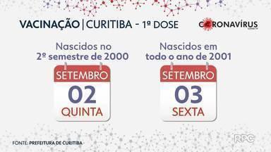 Curitiba vai usar estoque de 2ª dose para a 1ª aplicação em novos grupos - Prefeitura disse que estoque será reposto.