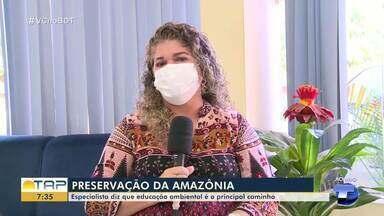 Especialista diz que educação é o principal caminho para prevenir crimes ambientais - Confira a entrevista com Clarice Rebelo.