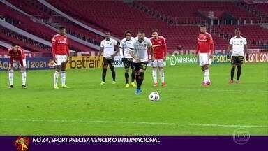 Com volta de Thiago Neves, Sport inicia o 2º turno da Série A contra o Inter - Com volta de Thiago Neves, Sport inicia o 2º turno da Série A contra o Inter