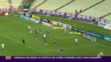 Daniel Rocha comenta Fortaleza x Atlético-MG - Saiba mais em ge.globo/ce