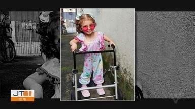 Menina de dois anos é exemplo de superação - Anne Gabrielle, de Cubatão, nasceu com hidrocefalia, passou por seis cirurgias e hoje faz ballet.