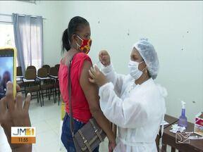 Covid-19: Balsas inicia mutirão para aplicação da segunda dose - Secretaria de Saúde espera imunizar 2 mil pessoas por dia até sexta (17).