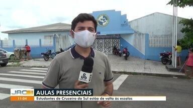 Cruzeiro do Sul volta com aulas presenciais - Cruzeiro do Sul volta com aulas presenciais