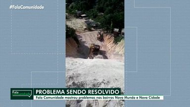Fala Comunidade mostra problemas sendo resolvidos após denúncias em Manaus - Fala Comunidade mostra problemas sendo resolvidos após denúncias em Manaus.