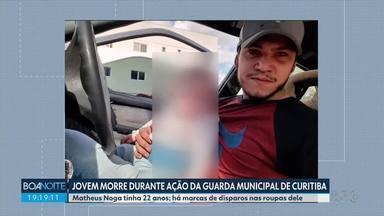 Guarda Municipal de Curitiba fala pela primeira vez sobre morte de jovem no Largo da Ordem - Matheus Noga estava em uma aglomeração no fim de semana e seu corpo tem marcas de disparos