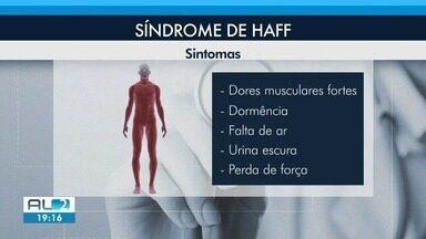 Paciente relata dificuldade de diagnóstico da Síndrome de Haff em Maceió - Infecção é conhecida como doença da urina preta e pode ser provocada por peixes ou crustáceos.