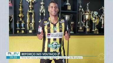 Voltaço tem novo reforço para Série C do Campeonato Brasileiro - Volante Muniz, de 32 anos vem da Portuguesa. No currículo do jogador mais de 200 partidas.
