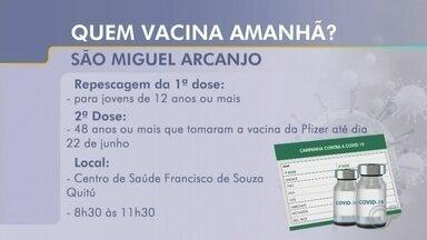 Veja quais cidades da região de Itapetininga aplicam vacinas contra Covid nesta terça - Confira quais cidades da região de Itapetininga (SP) prepararam ações para aplicar doses das vacinas contra a Covid-19 nesta terça-feira (14).