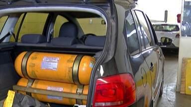 Aumenta procura por kit de gás para veículo - Custo do combustível é menor do que o do álcool e gasolina.