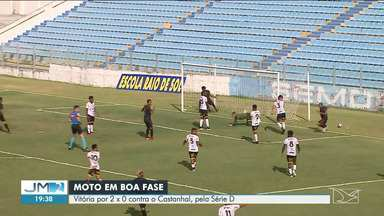 Moto vence o Castanhal pelo mata-mata da Série D do Brasileirão - Vitória veio um dia antes do clube completar 84 anos de história.