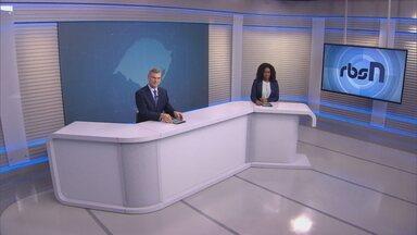 Assista a íntegra do RBS Notícias desta segunda (13) - Veja informações sobre a pandemia no estado.