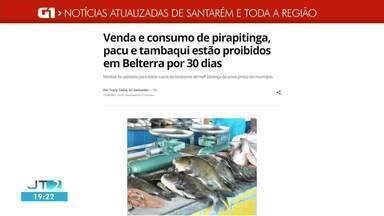 Confira as notícias em destaque no G1 Santarém e região - Acesse as reportagens em g1.com.br/tvtapajos