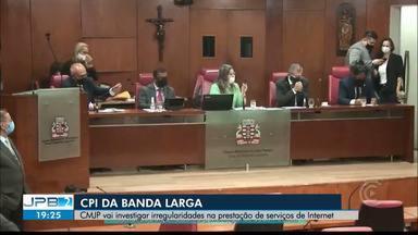 CPI da Banda Larga é aberta na Câmara de João Pessoa - Objetivo é investigar irregularidades no serviço de internet oferecido na cidade.