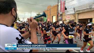 Corrida do Belo movimenta o domingo esportivo de João Pessoa - Evento foi organizado pelo Botafogo-PB em comemoração aos 90 anos do clube.