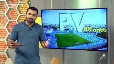 Eventos marcaram 80 anos que estádio Presidente Vargas completa nesta terça - Saiba mais em ge.globo/ce