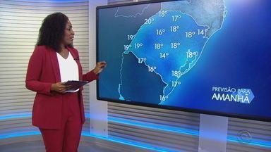 Quarta (15) tem previsão de sol na maior parte do RS - Mesmo com dia ensolarado, estado deve ter temperaturas mais baixas.