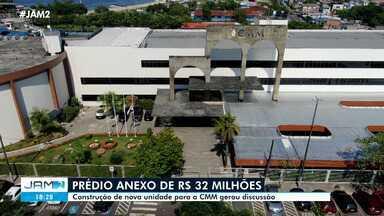 Construção de prédio anexo da CMM de R$ 32 milhões gera discussão - Construção de prédio anexo da CMM de R$ 32 milhões gera discussão