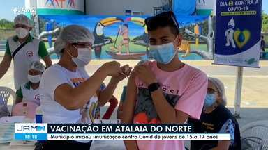 Atalaia do Norte vacina jovens de 15 a 17 anos contra Covid - Atalaia do Norte vacina jovens de 15 a 17 anos contra Covid