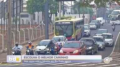 Veja informações sobre o trânsito em Rio Preto na manhã desta quarta-feira - Veja informações sobre o trânsito em São José do Rio Preto (SP) na manhã desta quarta-feira (15).