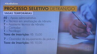 Fique ligado nas vagas de emprego em Goiás - Confira série de oportunidades para temporários.