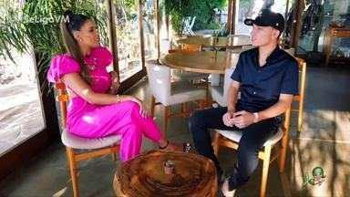 Niara Meireles conversa com o cantor João Gomes - Cantor mais ouvido do momento, João Gomes fala sobre carreira, realização de sonhos e solta a voz em uma entrevista exclusiva ao Se Liga VM