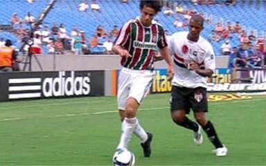 Melhores momentos: Fluminense 1 x 0 São Paulo pela 1ª rodada do Brasileirão 2009