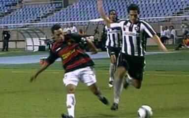 Melhores momentos: Botafogo 2 x 2 Sport pela 4ª rodada do Brasileirão 2009