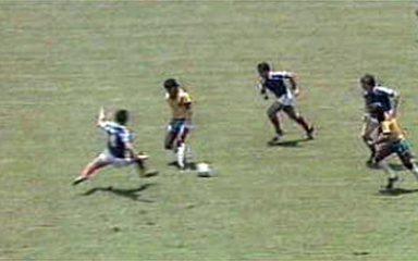 Em 1986, França elimina o Brasil da Copa do Mundo nos pênaltis