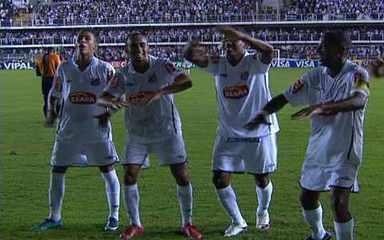 Veja os gols do Santos na campanha da Copa do Brasil 2010