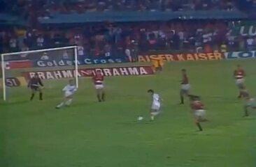 Em 1991, Flamengo derrota o Fluminense por 4 a 2 e é campeão carioca
