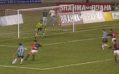 Em 1995, Grêmio vence por 2 a 0 Flamengo pela Copa dos Campeões