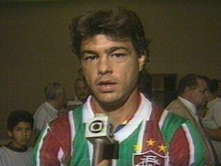 Em 1988, Edinho volta ao Fluminense