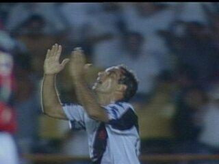 Em 1997, o Vasco vence o Flamengo por 4 a 1 pela 5ª rodada da 2ª fase do Brasileiro