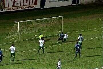 Os gols de São Mateus 2 x 1 Chapecoense pela Copa do Brasil 2012