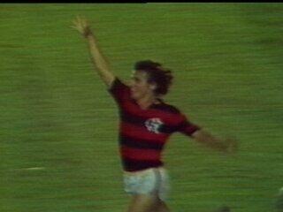 Em 1980, Flamengo vence o Atlético-MG por 3 a 2 e é campeão brasileiro